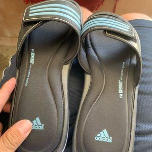 Men Adidas Tureia slide.  Size 10